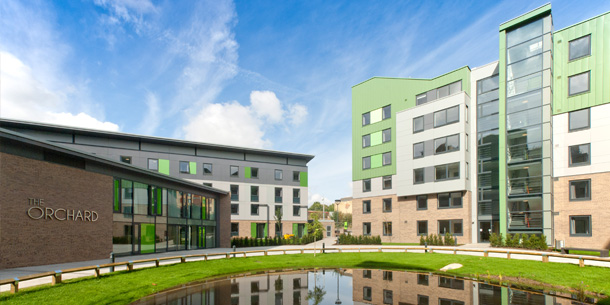 SUSTAINABLE STUDENT VILLAGE OPENS AT BRADFORD UNIVERSITY