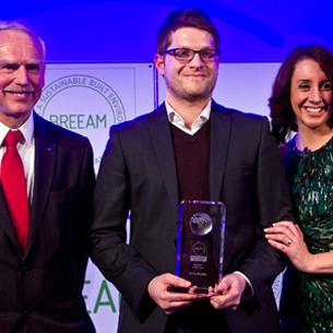 BARRY RANKIN WINS BREEAM ASSESSOR OF THE YEAR