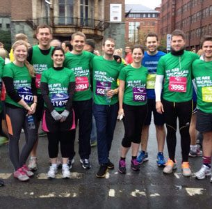 GWP DASH TO RAISE FUNDS FOR MACMILLAN