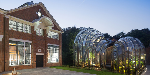 BOMBAY SAPPHIRE DISTILLERY SHORTLISTED FOR AJ RETROFIT AWARD