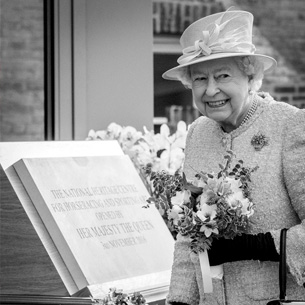 THE QUEEN OFFICIALLY OPENS THE NEW NATIONAL HORSERACING MUSEUM
