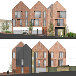 CHAPEL ALLERTON PASSIVHAUS FLATS APPROVED BY PLANNING
