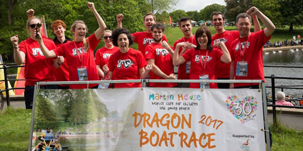 GWP TAKE ON BEST OF LEEDS AT MARTIN HOUSE DRAGON BOAT RACE