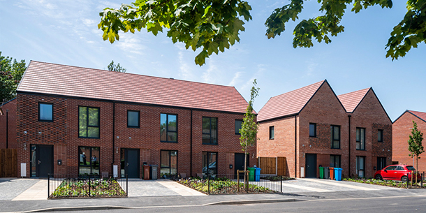 ANNIE LEE CLOSE PASSIVHAUS SCHEME COMPLETED
